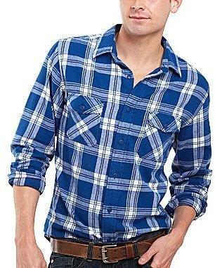 Arizona Plaid Flannel Shirt
