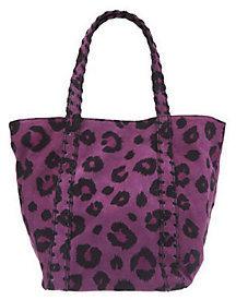 Kelsi Dagger Ryan Leopard Print Double Strap Shoulder Bag $88.86 thestylecure.com