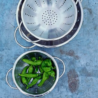 Williams Sonoma Open Kitchen Stainless-Steel Colanders, Set of 3