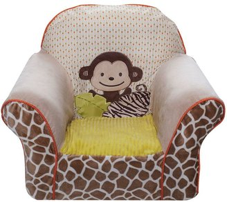 Carter's wildlife chair slip cover