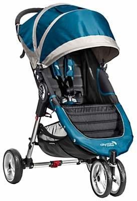 Baby Jogger City Mini 3 Wheel Pushchair, Teal/Grey