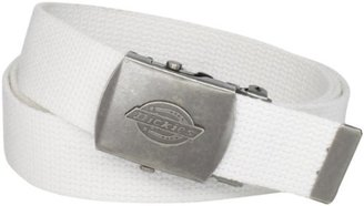 Dickies Men's 1 3/16 in. Cotton Web Belt With Military Logo Buckle