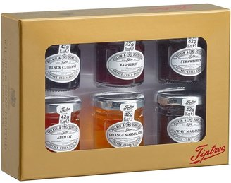 Tiptree Miniature Preserves & Marmalades Gold Gift Box 6 X 42g