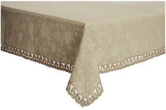 Sur La Table Cream Antique Jacquard Tablecloth