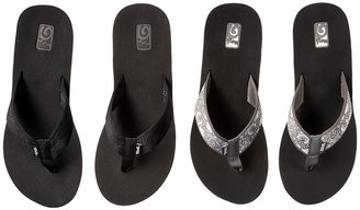 Teva Mush Mandalyn Wedge Two Pair Pack Women's Sandals