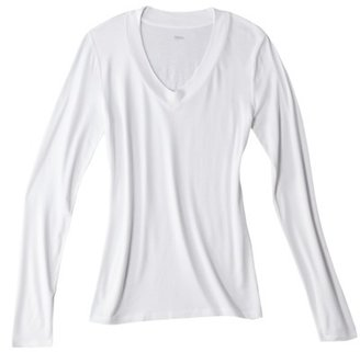 Mossimo Women's V-Neck Core Tee - Assorted Colors