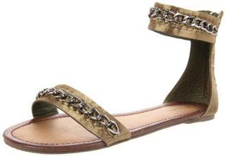C Label Women's Baker-1 Ankle-Strap Sandal