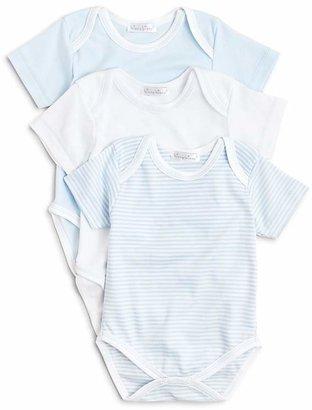 Kissy Kissy Boys' Stripe & Solid Bodysuit 3 Pack - Baby $58 thestylecure.com