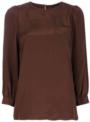 Marc by Marc Jacobs Peter Pan collar top
