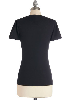 Raven Review Top in Black