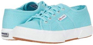 Superga 2750 JCOT Classic (Toddler/Little Kid) (Blue Light Crystal) Kids Shoes