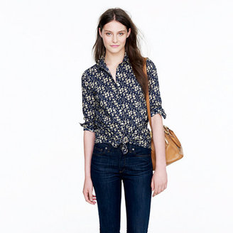 J.Crew Liberty perfect shirt in floral
