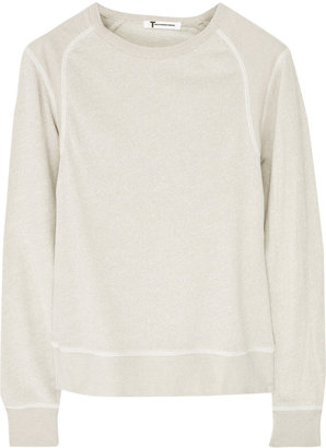 Alexander Wang Cotton-terry sweatshirt