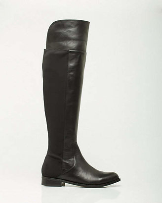 Le Château Leather & Lycra Over-the-Knee Boot