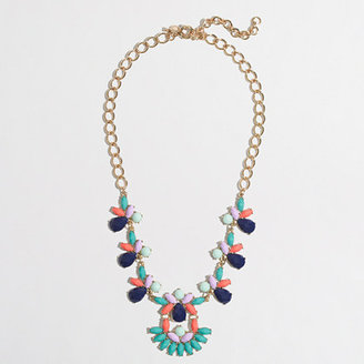 J.Crew Factory Factory parade fan necklace