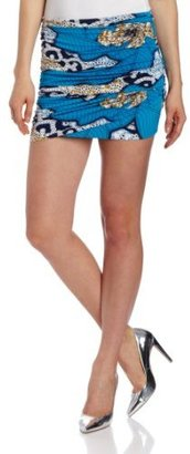 T-Bags Tbags Los Angeles Women's Printed Mini Skirt