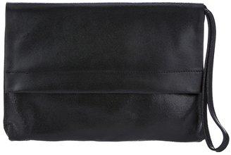 Maison Martin Margiela Leather Clutch Black