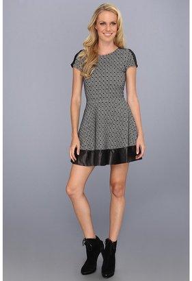 Parker Nolan Dress (Black/White) - Apparel