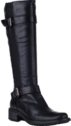 Aquatalia by Marvin K Star Tall Boot Black Leather