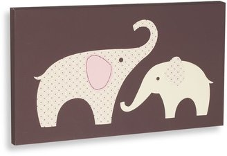 Carter's Pink Elephant Canvas Wall Art