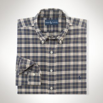 Polo Ralph Lauren Big & Tall Classic-Fit Tartan Oxford