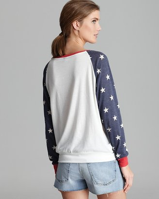 ALTERNATIVE Pullover - Slouchy Patriotic