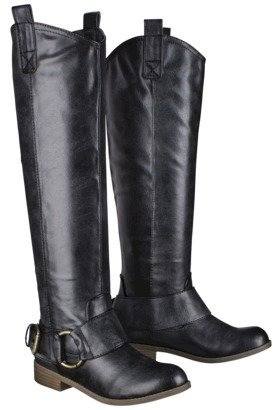 Boots Women's Mossimo Supply Co. Kamari Tall Buckle Black