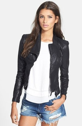 BLANKNYC Faux Leather Jacket $98 thestylecure.com