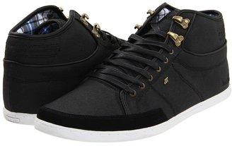 Boxfresh Swapp Waxed Canvas (Black) - Footwear