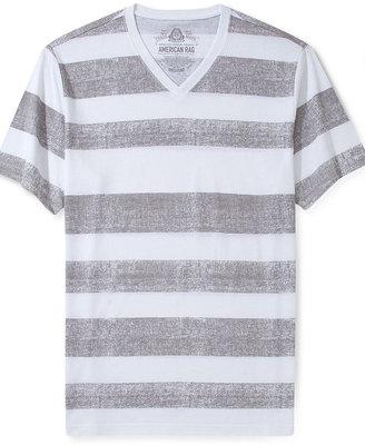 American Rag T-Shirt, Shadows Stripe Short Sleeve T-Shirt