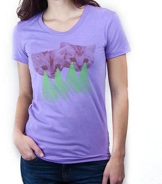 Choke Shirt Co. Pew Pew Kitty Tee Women's