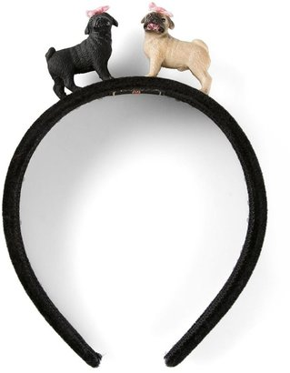 Piers Atkinson puppy headband