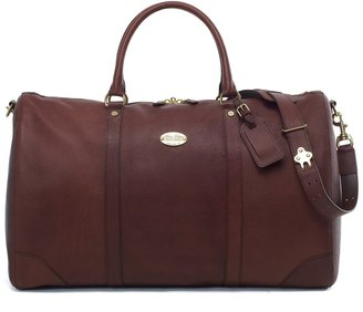 Brooks Brothers Football Leather Duffel