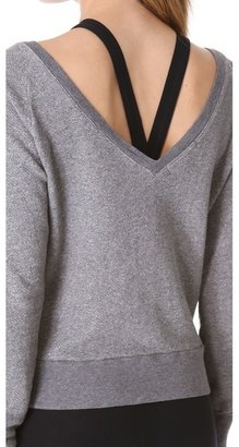 So Low Solow V Back Sweatshirt