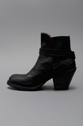 Fiorentini+Baker Paige Ankle Strap Boot - Black