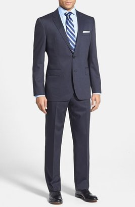 HUGO BOSS 'Jam/Sharp' Trim Fit Stripe Suit