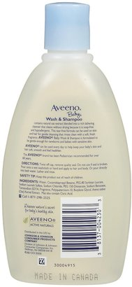 Aveeno Baby Baby Wash & Shampoo - 12 oz