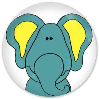 Poshe Zoo Animals Elephant Knob