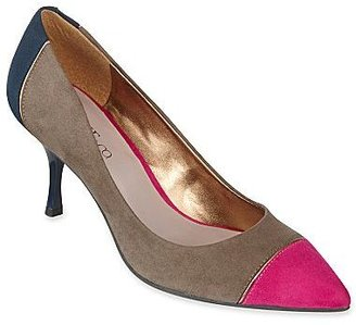 JCPenney Nine & Co.® Koda Suede Colorblock Pumps