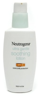 Neutrogena Ultra Gentle Soothing Face Lotion SPF 15