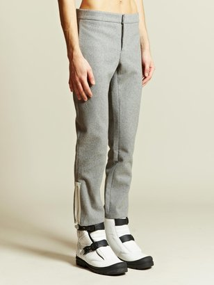 J.W.Anderson Men's Perforated Zip Trouser
