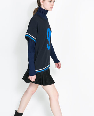 Zara Sporty T-Shirt With Number