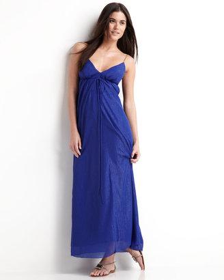 Nicole Miller Braided-Strap Gown