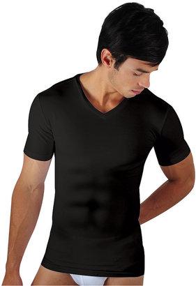 Papi Men's Underwear, Six Pack Body Defining V-neck T shirt