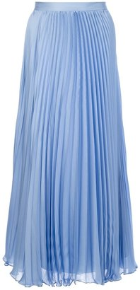 Ralph Lauren Blue Label pleated maxi skirt