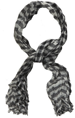 Yigal Azrouel Buffalo Check Scarf