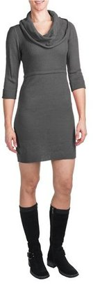 She's Cool She's Cool Sweater Dress - Cowl Neck, 3/4 Sleeve (For Women)