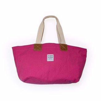 Risdon & Risdon - Original Pink Canvas & Leather Bag