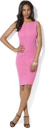 Lauren Ralph Lauren Sleeveless Cotton-Blend Sweater Dress