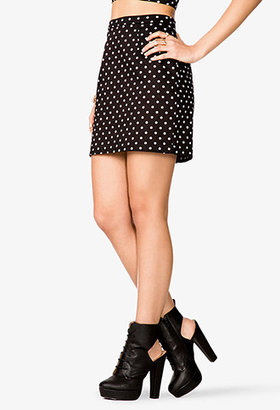 Forever 21 Polka Dot Mini Skirt